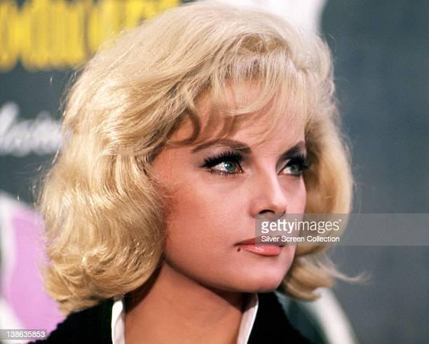 Headshot of Virna Lisi Italian actress circa 1960