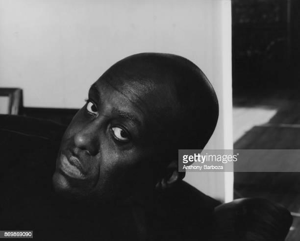 Headshot portrait of American actor and director Bill Duke Los Angeles California 1994