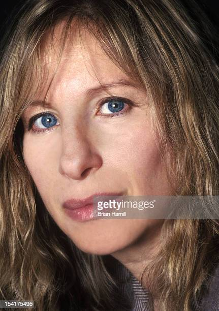 Headshot portrait of American actress director and singer Barbra Streisand New York New York May 1990