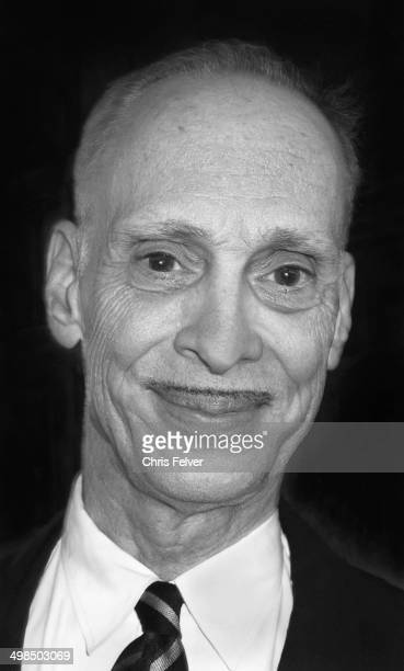 Headshot portrait of American film director John Waters Los Angeles California January 15 2014