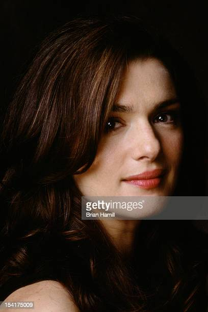Headshot portrait of British actress Rachel Weisz Los Angeles California 2002