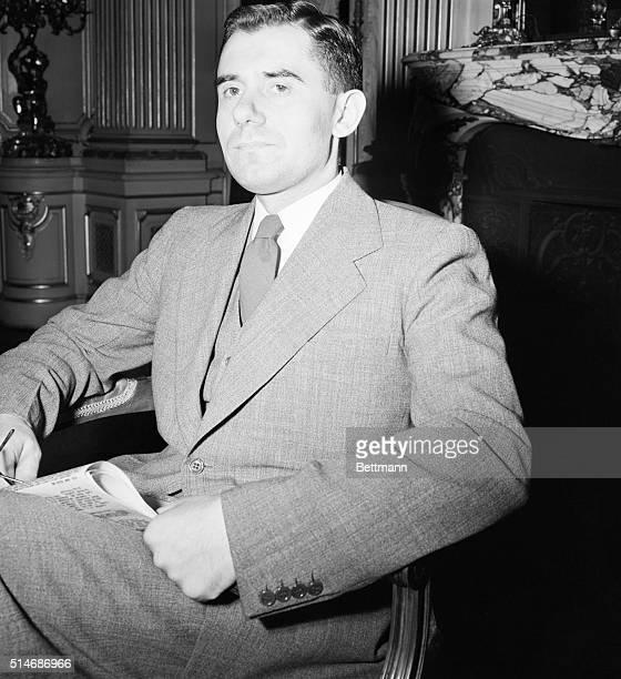 1943 Headshoulders shot of Soviet Foreign Minister Andrei Gromyko
