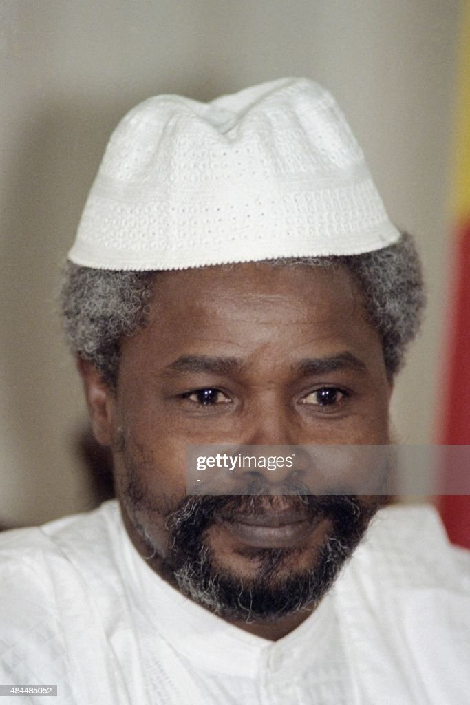 Headshut taken on April 4, 1987 of Chadian President <a gi-track='captionPersonalityLinkClicked' href=/galleries/search?phrase=Hissene+Habre&family=editorial&specificpeople=1043137 ng-click='$event.stopPropagation()'>Hissene Habre</a>.