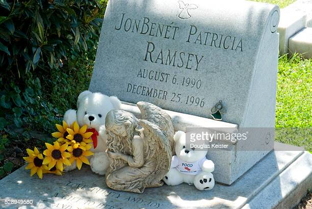 Headstone of JonBenet Ramsey
