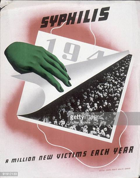 A health awareness poster features an illustration of a sinister disembodied green hand as it turns the page on a calendar to reveal a photograph of...