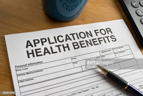 Health Benefits Application