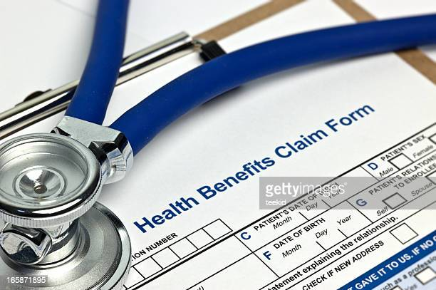 Health Benefits Claim Form