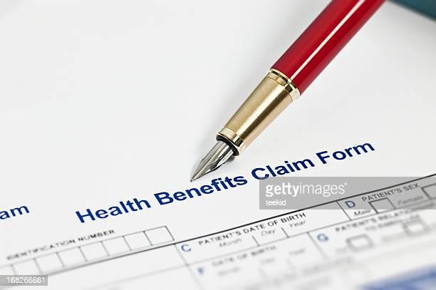 Santé formulaire de réclamation