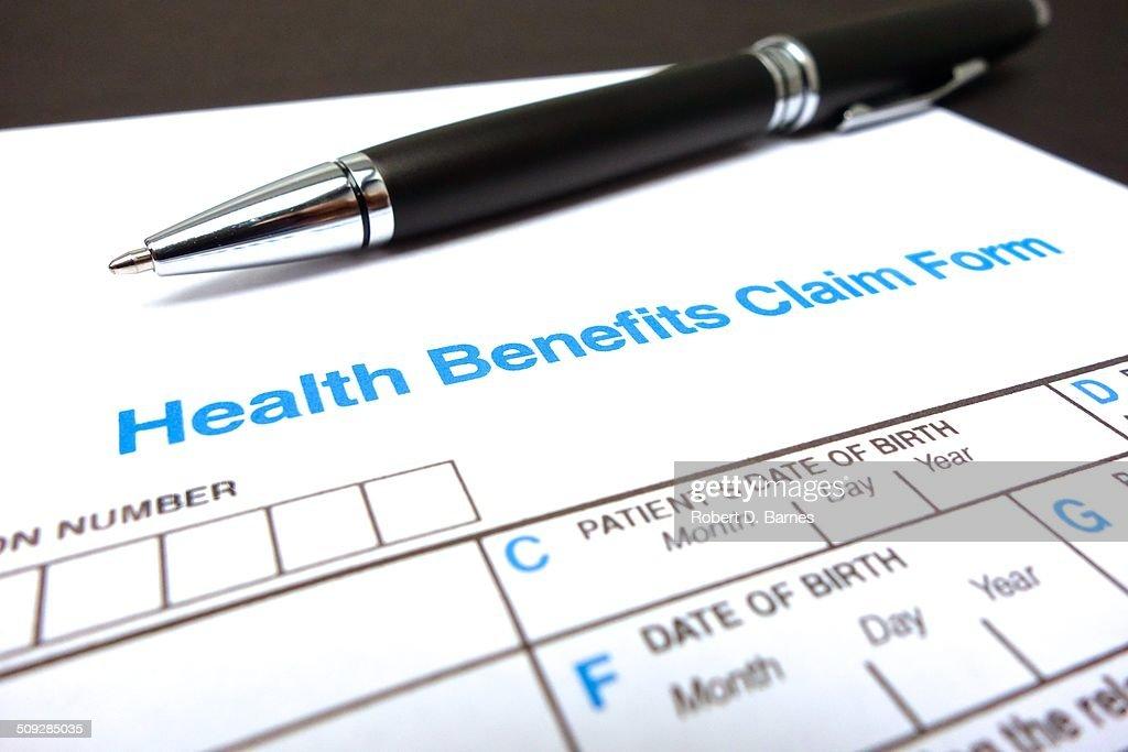 Health Benefits Claim Form