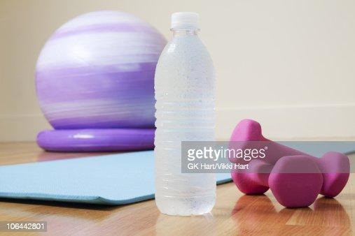 Health Club Still Life : Stock Photo