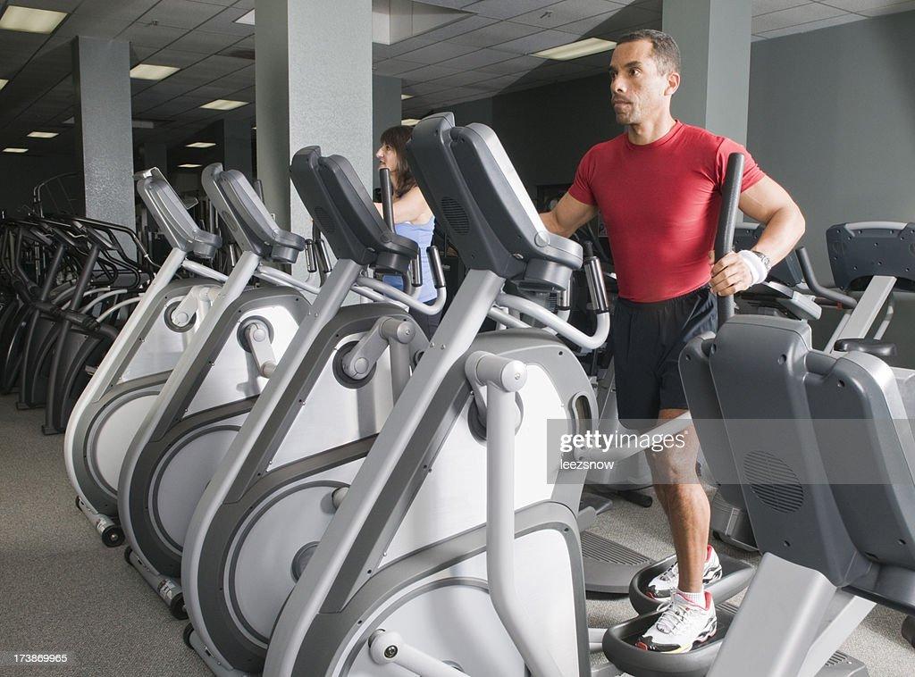 Health Club Workout - Eliptical Machine