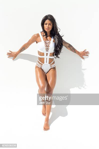 Health coach Massy Arias is photographed for Latina Magazine on February 19 2016 in Culver City California PUBLISHED IMAGE
