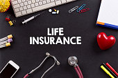Health Concept: LIFE INSURANCE
