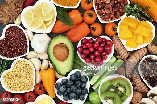 Health Food for Fitness : Stock Photo