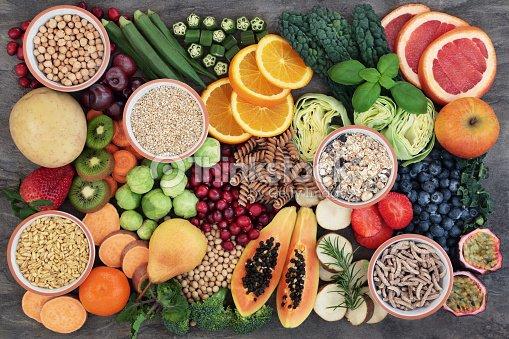 高繊維含有量と健康食品 : ストックフォト