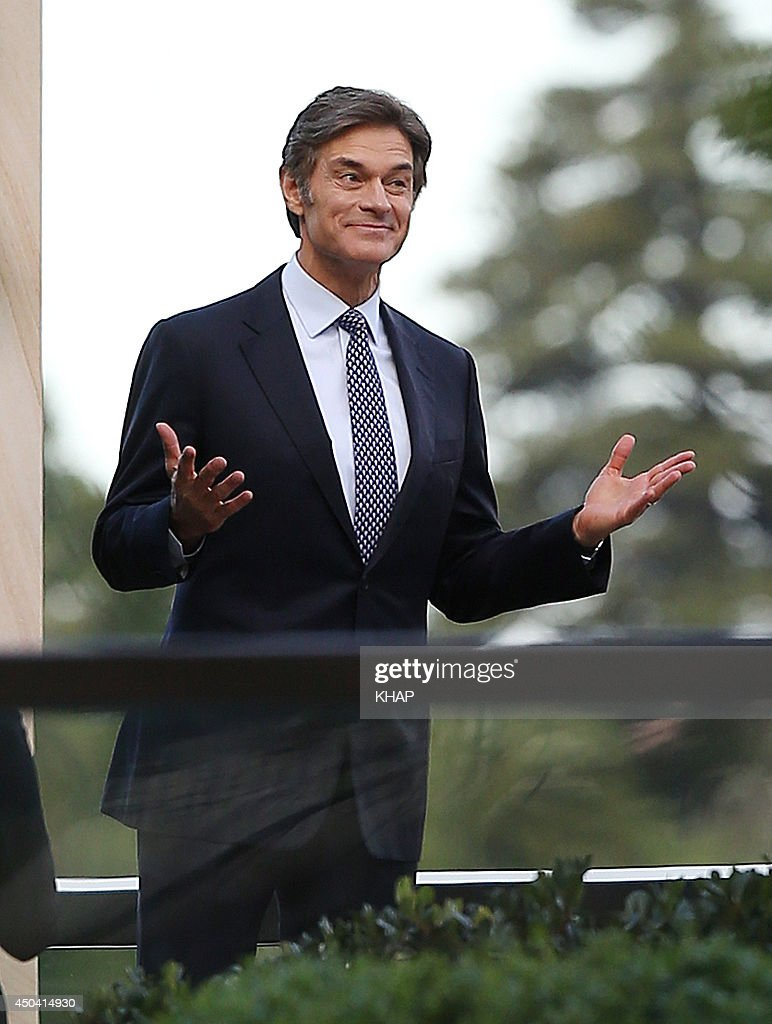U.S. health guru, Dr Mehmet Oz is seen on a photo shoot on June 11, 2014 in Sydney, Australia.