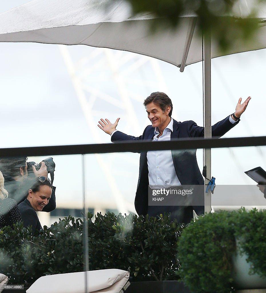 U.S. health guru, Dr Mehmet Oz is seen on a photo shoot on June 11, 2014 in Sydney, Australia.