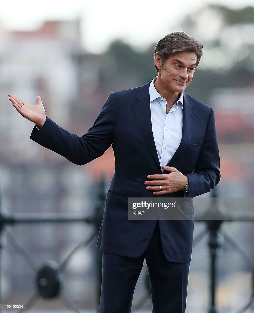 U.S. health guru, Dr <a gi-track='captionPersonalityLinkClicked' href=/galleries/search?phrase=Mehmet+Oz&family=editorial&specificpeople=4175862 ng-click='$event.stopPropagation()'>Mehmet Oz</a> is seen on a photo shoot on June 11, 2014 in Sydney, Australia.