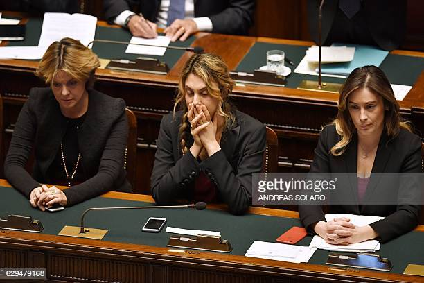 Health Minister Beatrice Lorenzin Public Administration and Simplification Minister Marianna Madia and Undersecretary to the Prime Minister Maria...