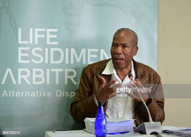Health ombudsman Professor Malegapuru Makgoba during the Life Esidimeni arbitration hearing at Emoyeni Conference Centre Parktown on October 09 2017...