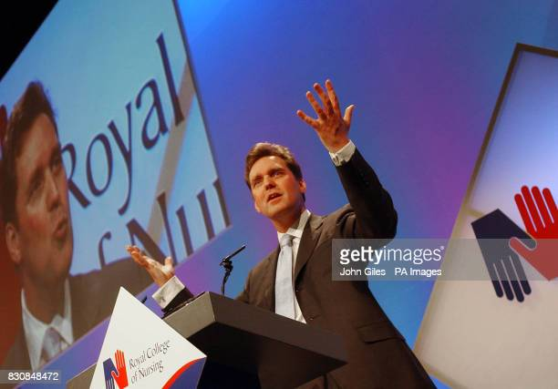 Health Secretary Alan Milburn delivers his speech to the annual congress of the Royal College of Nursing Congress in Harrogate when he told delegates...