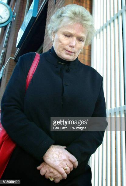 Health visitor Claire McDonnell from Portadown leaving the Nursing and Midwifery Council professional conduct hearing in Belfast McDonnell denies...