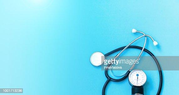 Concept de soins de santé. Antécédents médicaux. : Photo