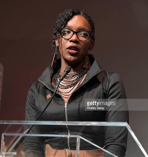 Healthcare Foundation's Samantha Granberry attends AIDS Healthcare Foundation iNHale Entertainment Partner To Host 'INside | OUTside Celebrating Our...