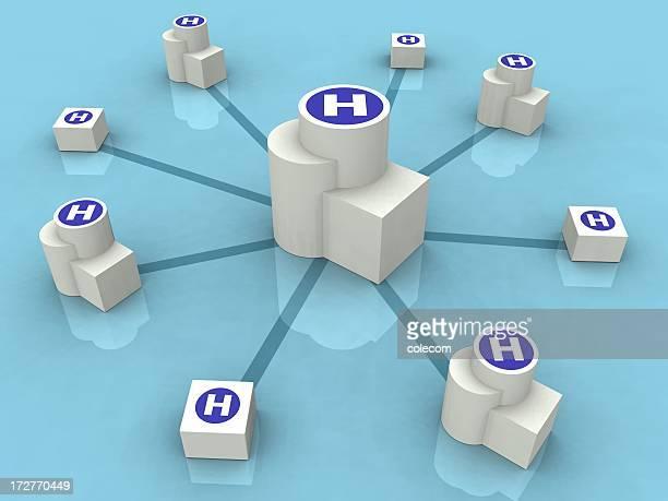 Gesundheitswesen Netzwerk
