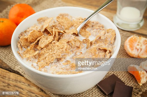 healthy and delicious breakfast : Foto stock