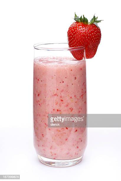 Healthy Antioxidant Strawberry Smoothie