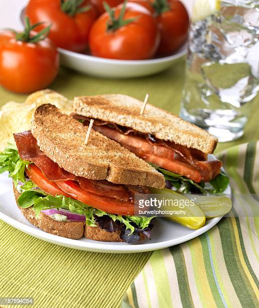 Healthy BLT Sandwich