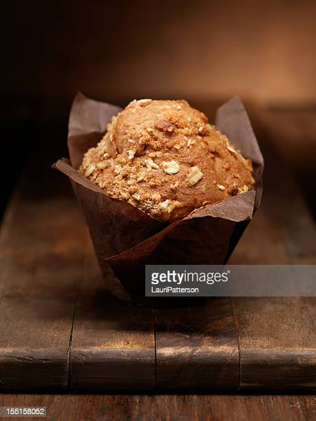 Healthy Carrot and Oat Muffins