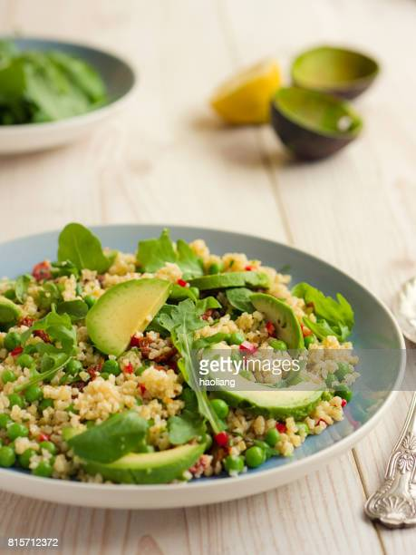 Healthy chilli bulgur salad