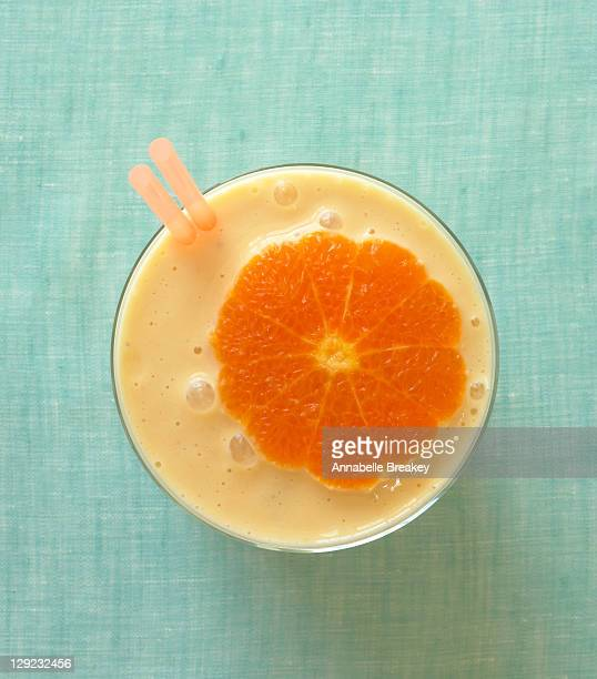 Healthy Citrus Orange Smoothie Drink