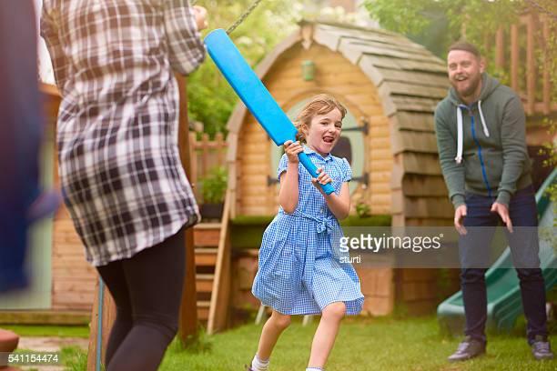 healthy cricket family