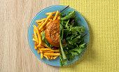 Dieting, Choice, Food, Healthy Eating, Fast Food