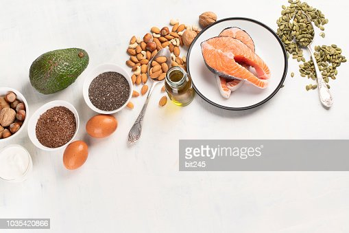 Healthy fat source : Stock Photo