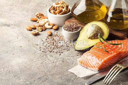 Healthy fats in nutrition. : Stock Photo