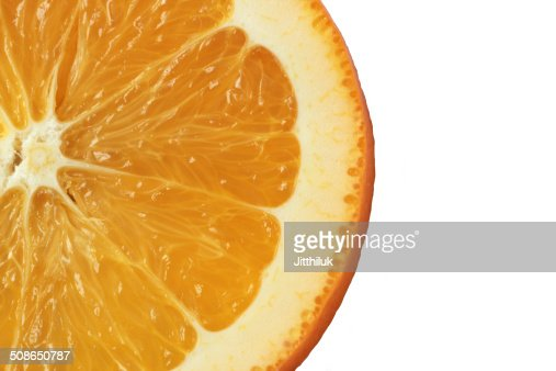 Healthy food, background. Orange : Stock Photo