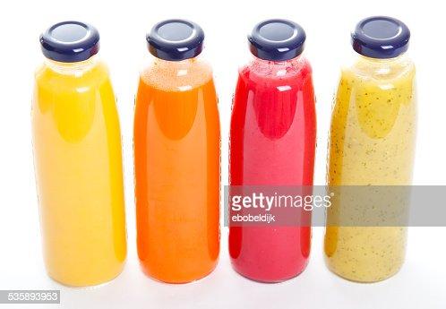 Sano fruitbottles : Foto stock