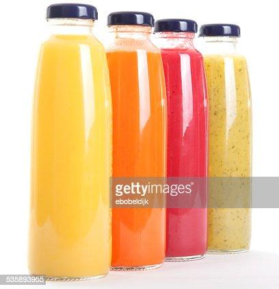Gesunde fruitbottles : Stock-Foto