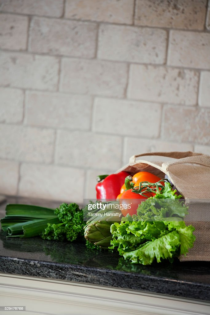 Healthy groceries : Stock Photo