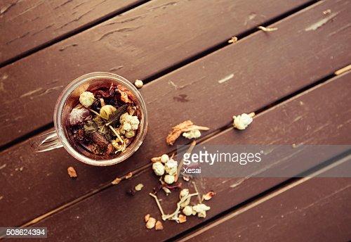 healthy herbal tea : Stock Photo