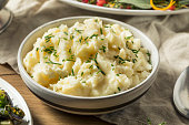 Healthy Homemade Mashed Potatoes for Thanksgiving Dinner
