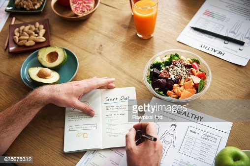 Healthy Lifestyle Diet Nutrition Concept : Foto stock