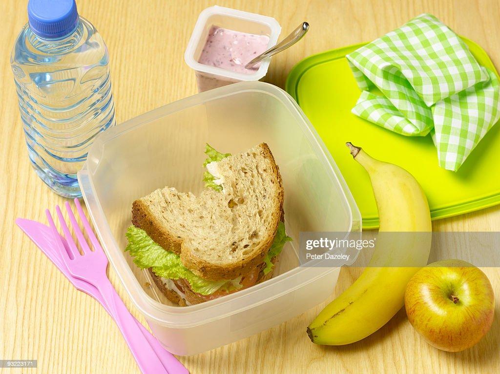 Healthy lunchbox.