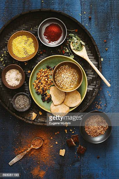 Healthy organic food ingredients