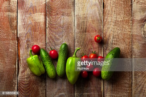 Healthy Organic Vegetables : Stock Photo