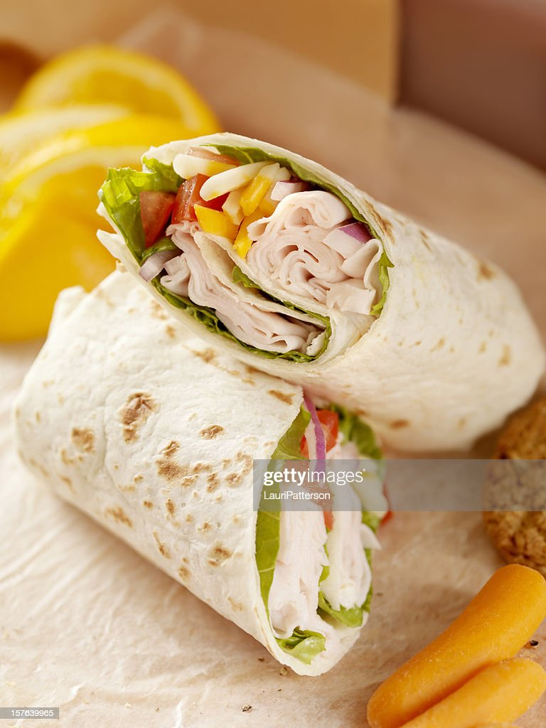 Healthy Packed Lunch : Stock Photo